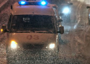 На трассе «Губкин – Белгород» водитель сбил пешехода, и скрылся с места ДТП