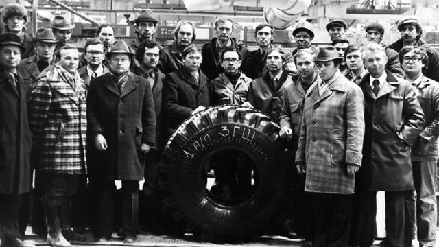 40-летний юбилей «Нижнекамского завода грузовых шин»