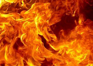 В селе Супонево при пожаре пострадал один человек