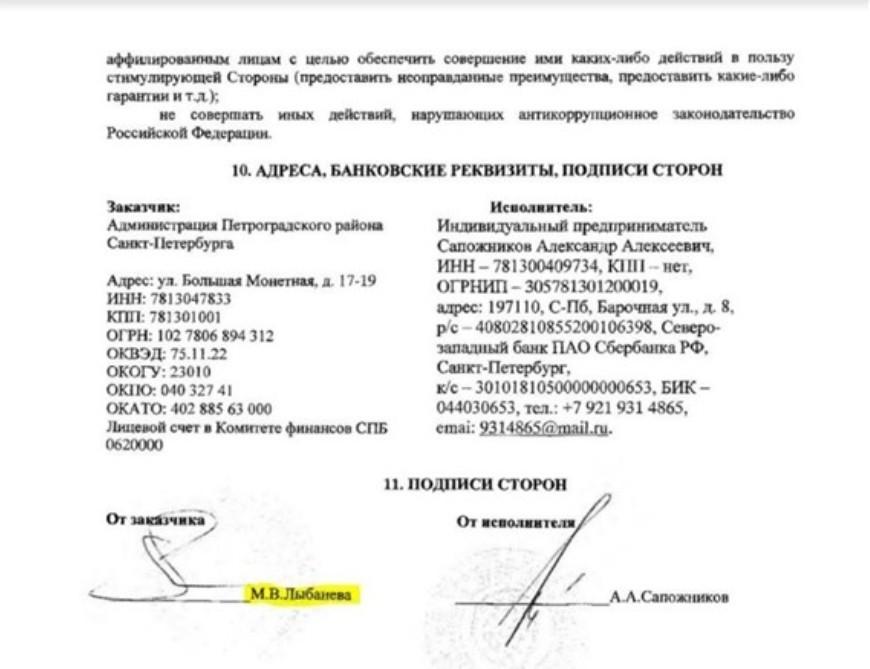 Петроградский район заключил контракт на закупку новогодних подарков с нарушениями